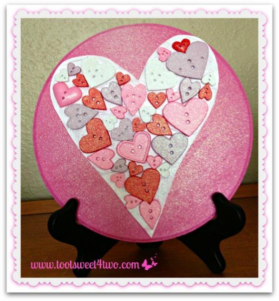 DIY Heart Plaque