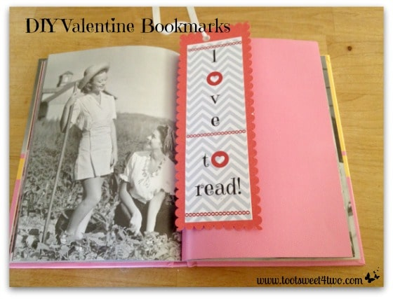 DIY Valentine Bookmarks cover