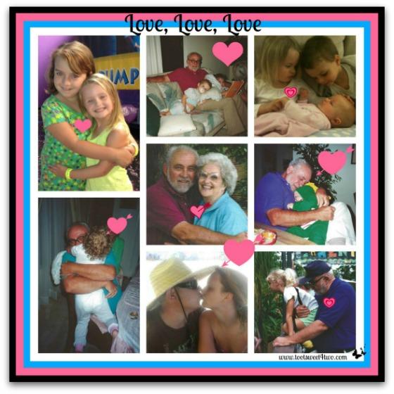 More love photo collage