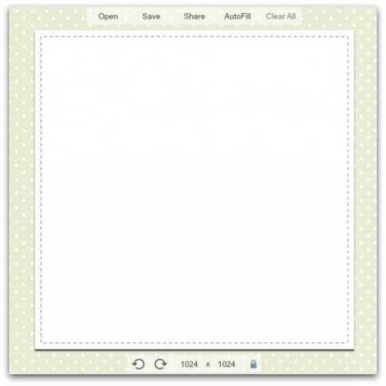 PicMonkey blank canvas