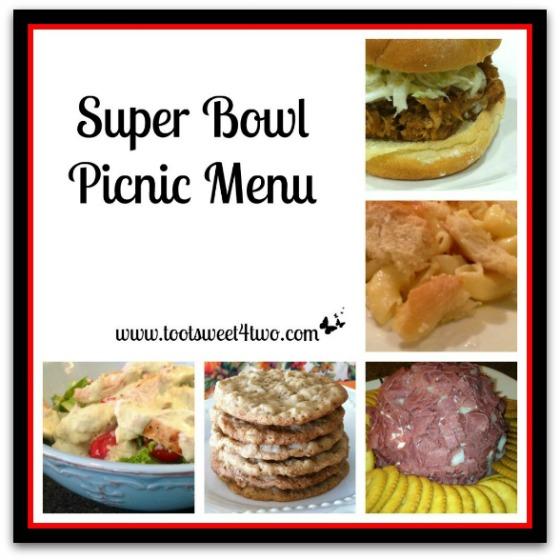 Super Bowl Picnic Menu