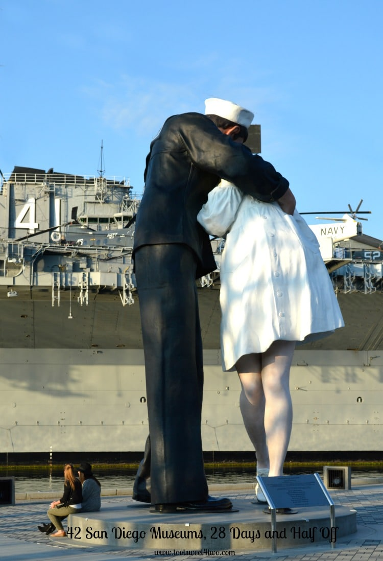 Unconditional Surrender statute at the Midway, San Diego, CA