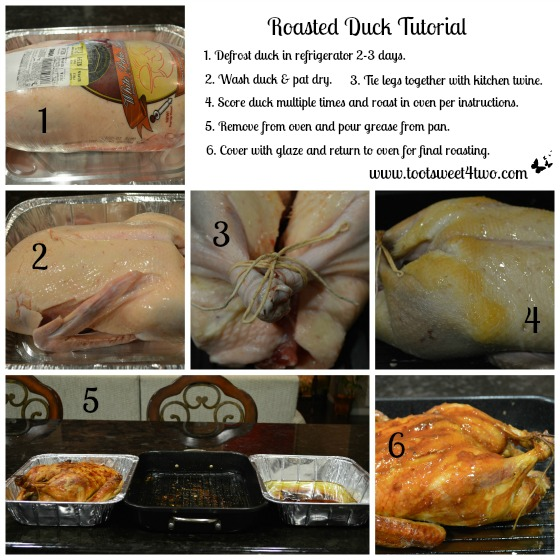 Roasted Duck Tutorial