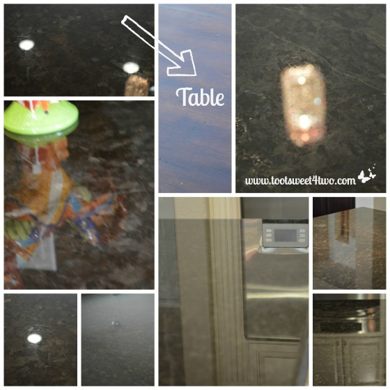 Countertop Surface Reflections