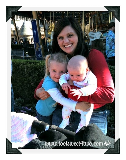 The Princesses P and I at Disneyland 2010