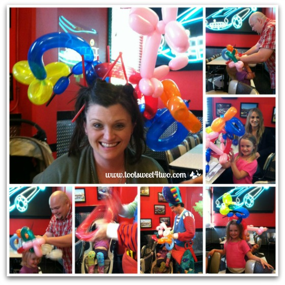 Balloons at Corvette Diner