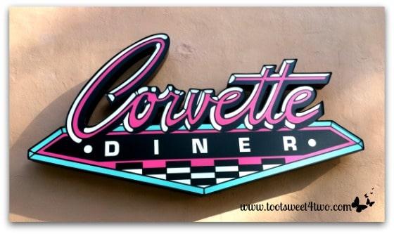 Corvette Diner sign