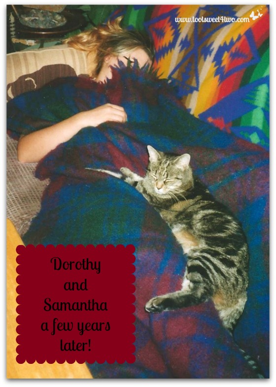 Dorothy and Samantha Sleeping together