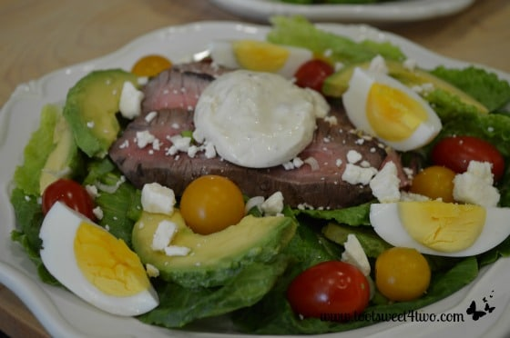 Steak and Egg Salad