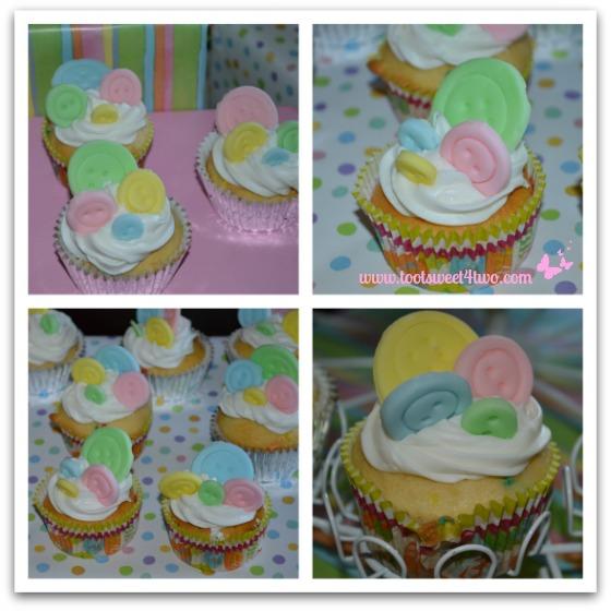 Patti's Button Cupcakes