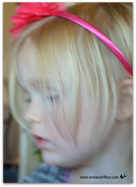 Princess Sweetie Pie in present overload