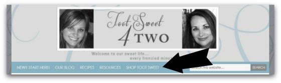 Shop Toot Sweet