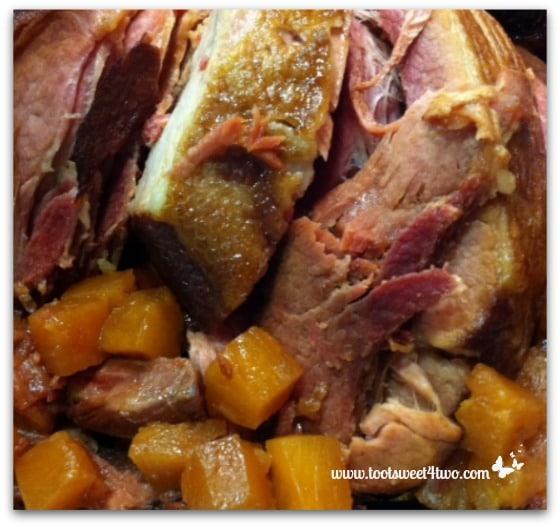 Crock Pot Ham with Pineapple