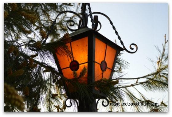 Ornamental Iron Lamp