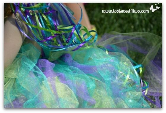 Aqua, Lavender and Green Fairy