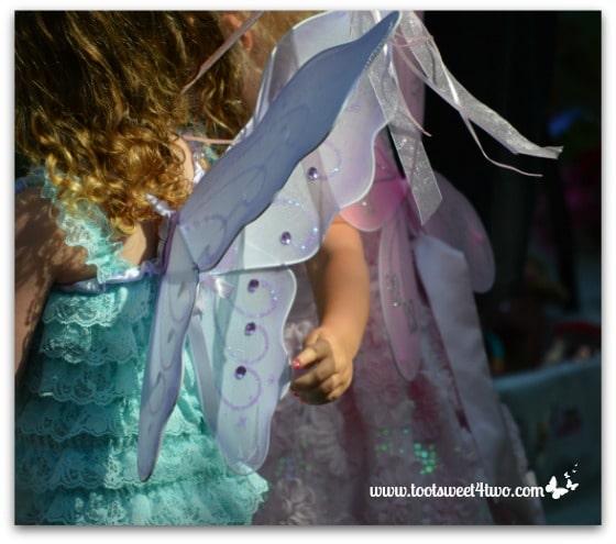 Aqua and Pink Fairies