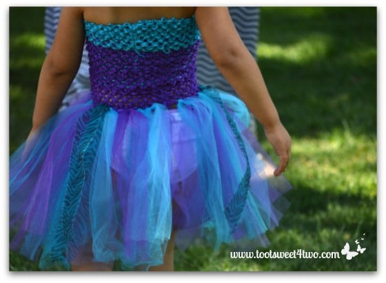 Blue and Purple Wingless Fairy