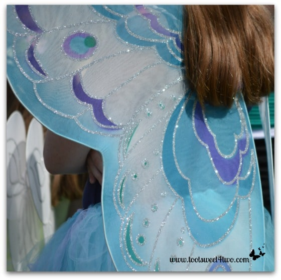 Blue with Purple Fairy Wings