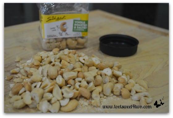 Chopped cashews