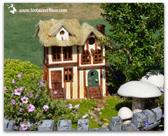 Fairy Garden with Tudor House