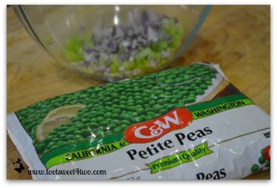Frozen Petite Peas