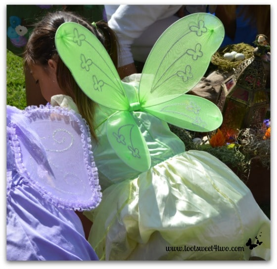 Green Fairy at the Fairy Gardens
