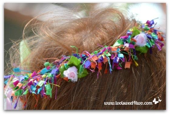 Multi-colored Fairy Crown