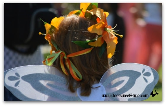 Orange Fairy Crown