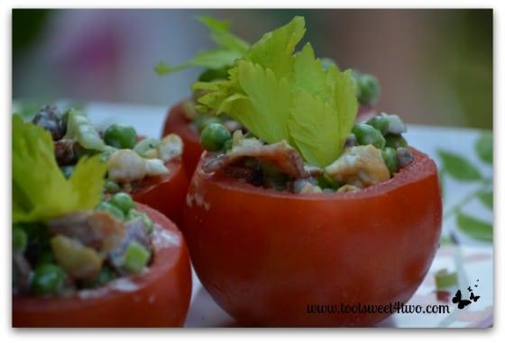 Pea Salad close-up