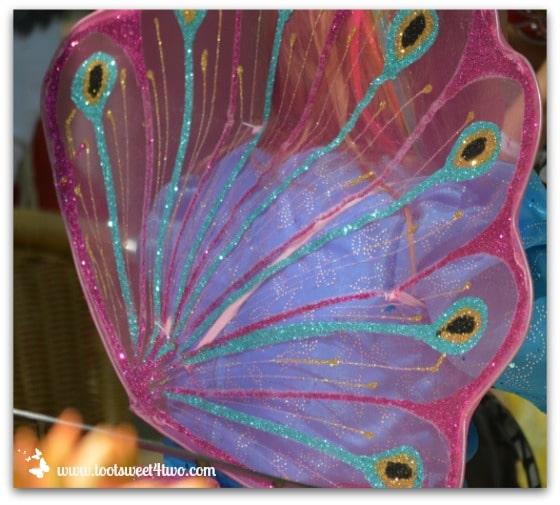 Peacock Fairy Wings