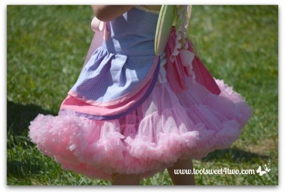 Pink Ruffled Fairy