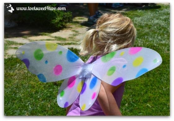 Princess Sweetie Pie and her Polka-Dot Fairy Wings