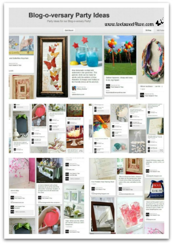 Blog-o-versary Pinterest Collage