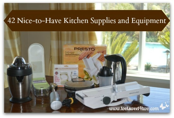 42 Nice-to-Have Kitchen Supplies and Equipment