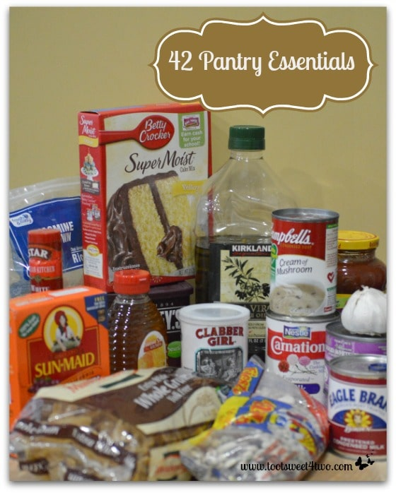 42 Pantry Essentials