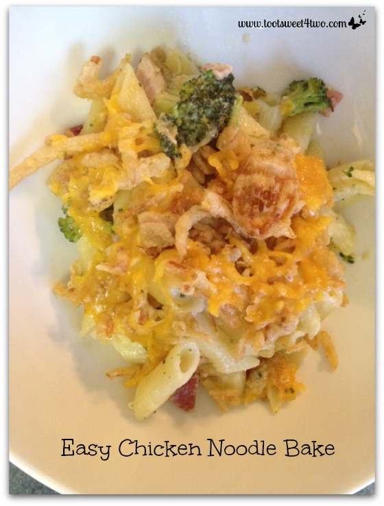 Easy Chicken Noodle Bake