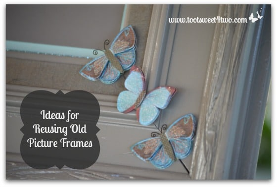 Ideas for Reusing Old Picture Frames cover