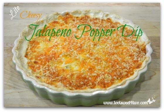 Lite Cheesy Jalapeno Popper Dip cover