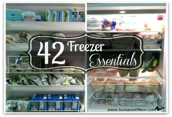 42 Freezer Essentials