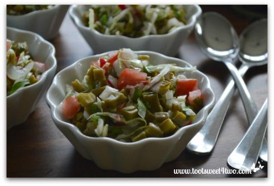 Cactus Salad close-up