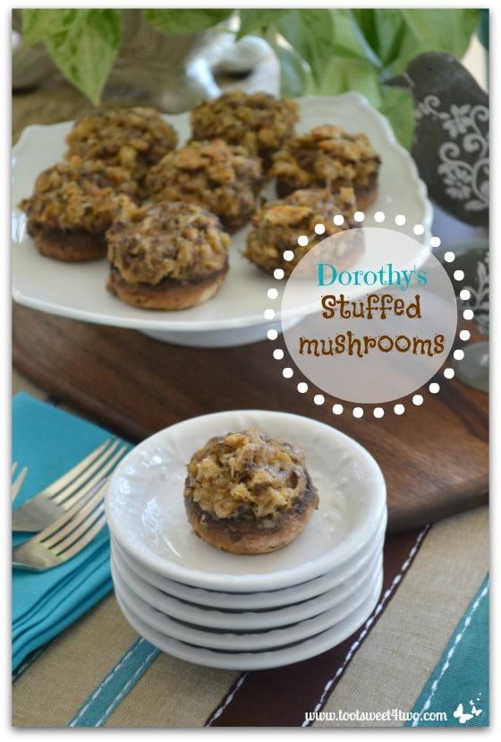 Dorothy's Stuffed Mushrooms Pinterest