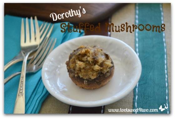 Dorothy's Stuffed Mushrooms