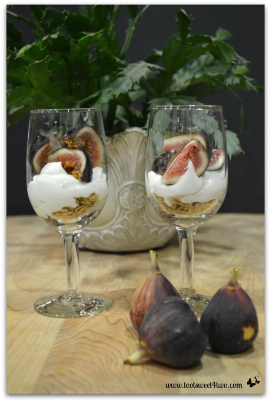 Figs in Black Fig Parfait