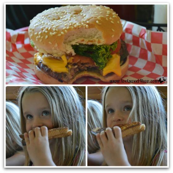 Food at the Hamburger Factory
