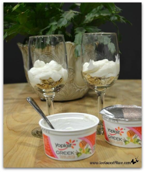 Greek yogurt for Black Fig Parfait