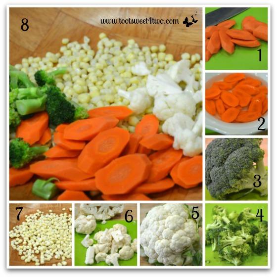 Root vegetables - Garden Vegetable Tuna Casserole