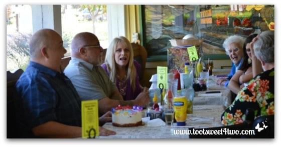 Singing Happy Birthday to Tiffany