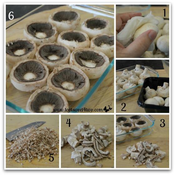 Stuffed Mushrooms tutorial