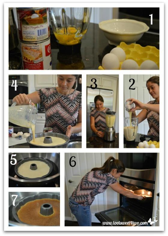 Making Rosa's Caramel Flan