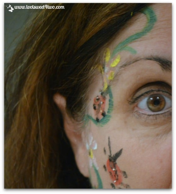 My painted face
